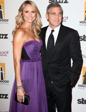 George Clooney brushes off Oscar talk