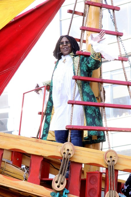 Macy's Thanksgiving Day Parade: Whoopi Goldberg
