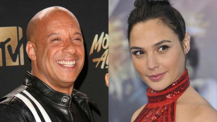Superhumans Vin Diesel & Gal Gadot