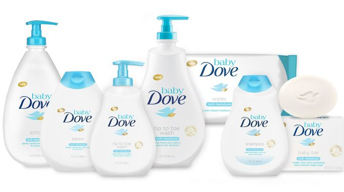 Beauty Brands with Baby Products: Baby Dove