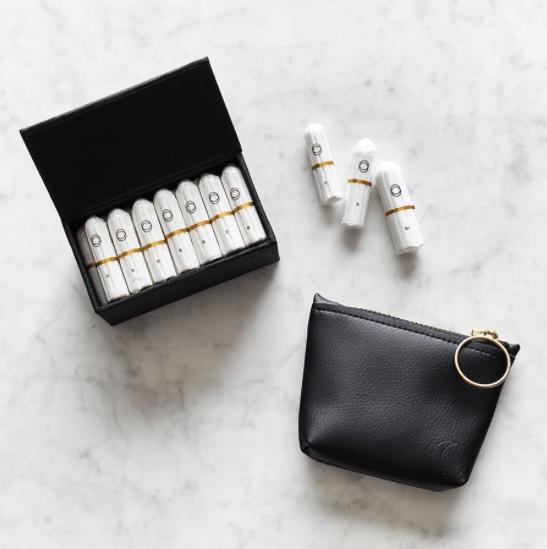 Cora applicator-free tampons