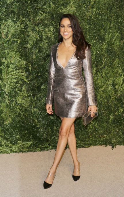 Meghan Markle's Most Fashionable Outfits | Attending the 12th annual CFDA/Vogue Fashion Fund Awards