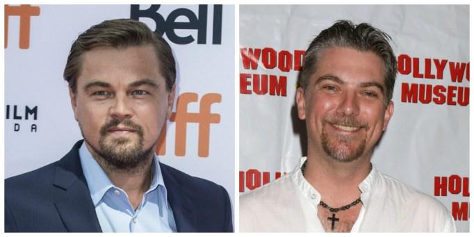 Leonardo DiCaprio and Jeremy Miller