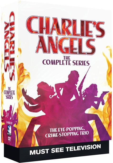 'Charlie's Angels' DVD art