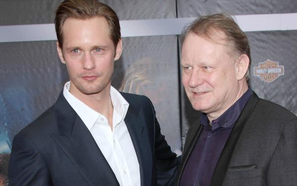 Celebrities with famous fathers: Alexander Skarsgård & Stellan Skarsgård
