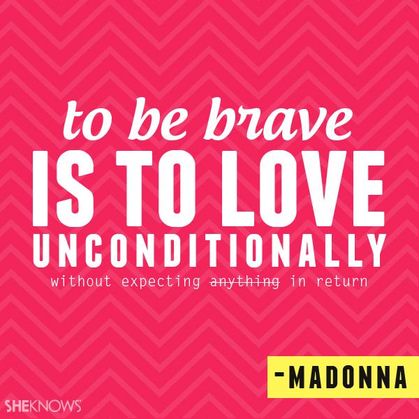 Madonna love quote