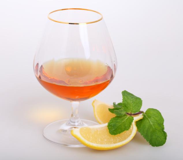Cognac mint julep