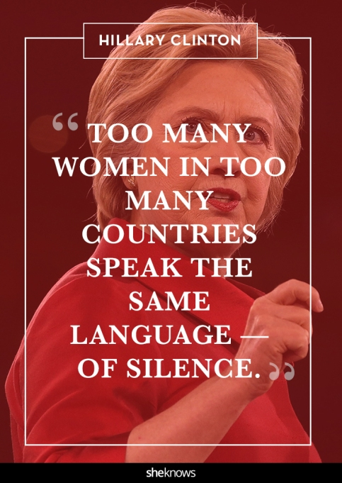 Hillary Clinton quote