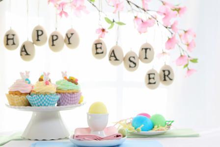 Pretty DIY Easter table setting ideas