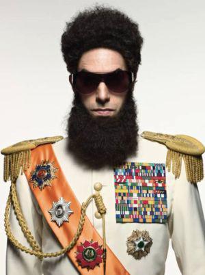 Admiral General Aladeen issues Oscars ultimatum