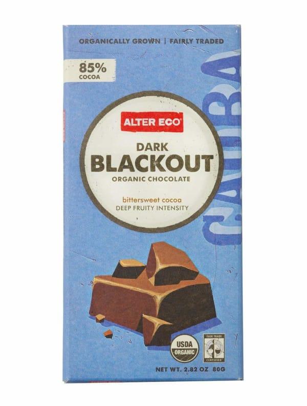 Alter Eco Dark Blackout organic chocolate