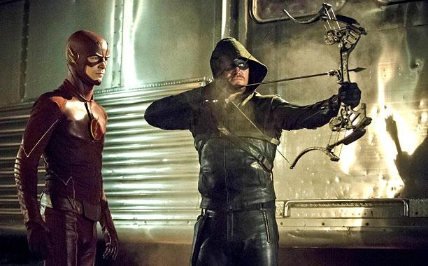 The Flash on Arrow