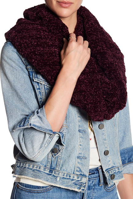Ways to Wear an Infinity Scarf | Free People Love Bug chenille twisted infinity scarf
