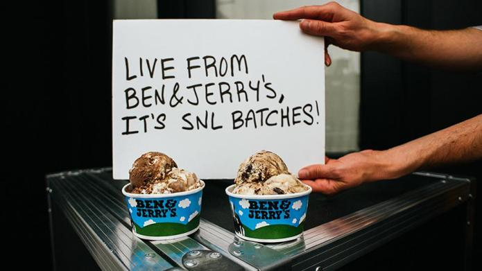Ben & Jerry's launches SNL-themed ice