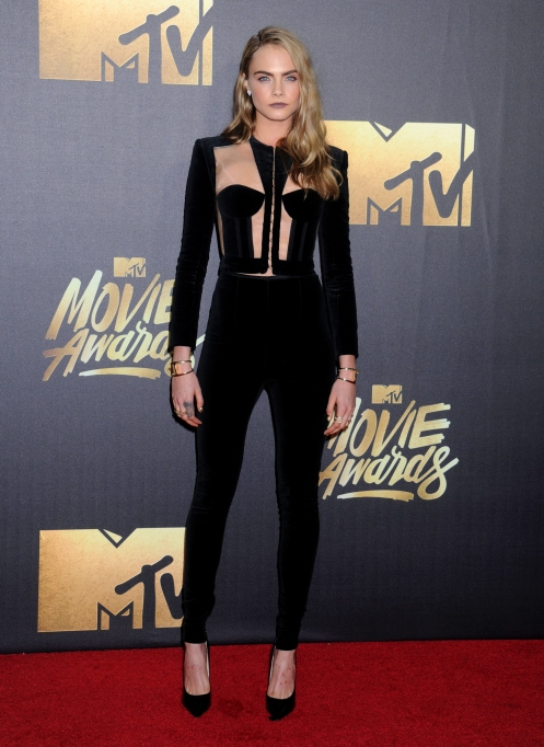 Cara Delevingne MTV movie awards