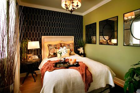 Decorating with the color green