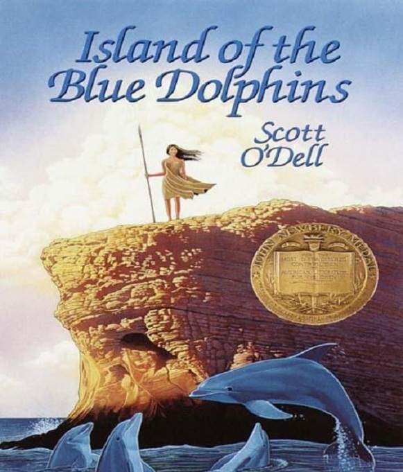 Books for girls: Island of the Blue Dolphins