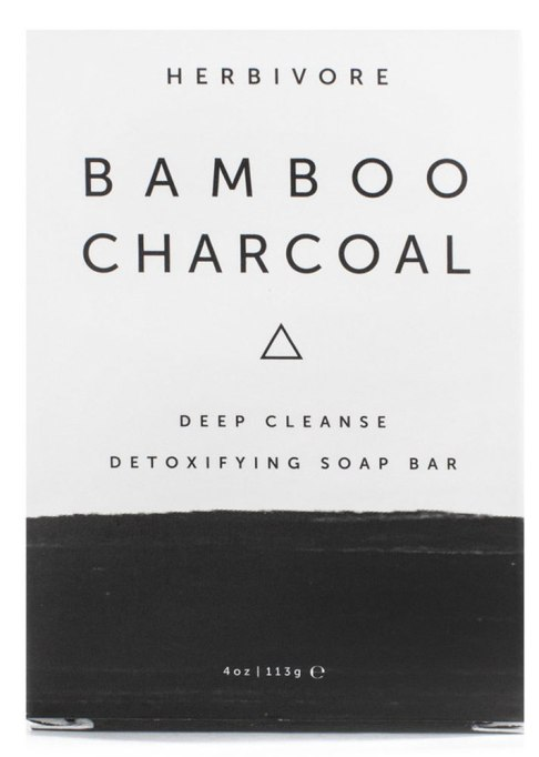 Charcoal Beauty Products: Herbivore Botanicals Bamboo Charcoal Deep Cleanse Detoxifying Soap Bar | Skin Care Products 2017