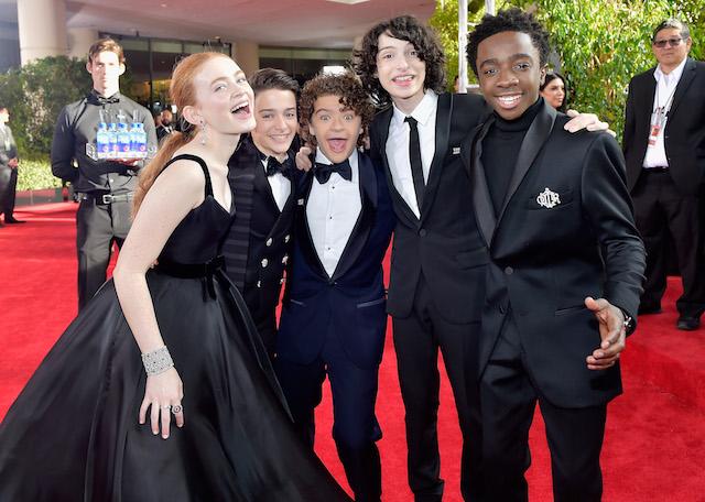 Best Golden Globes fashion 2018: The 'Stranger Things' stars