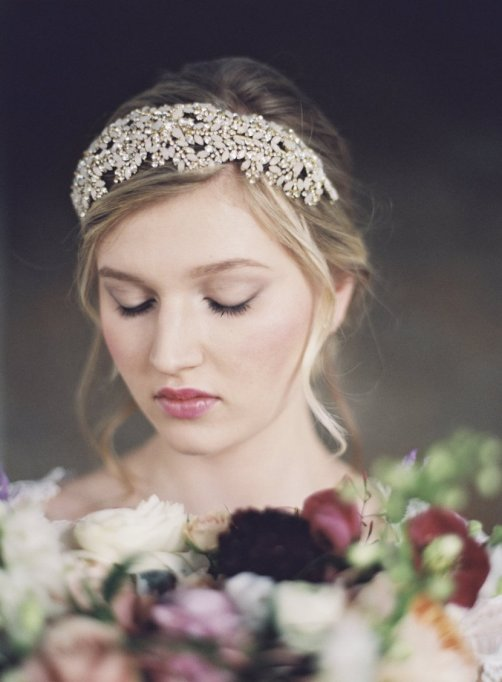 Ethereal Bridal Hair Accessories | Michael & Carina Photographers