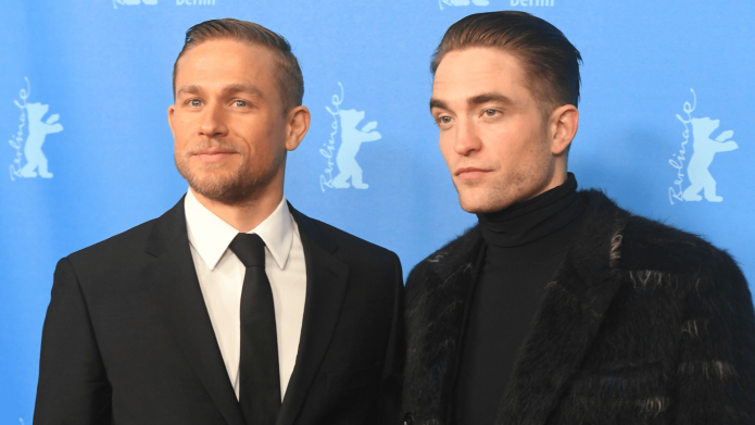 Charlie Hunnam Makes Robert Pattinson Sound