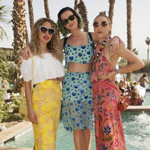 Celebrity trendspotting at the Coachella Music