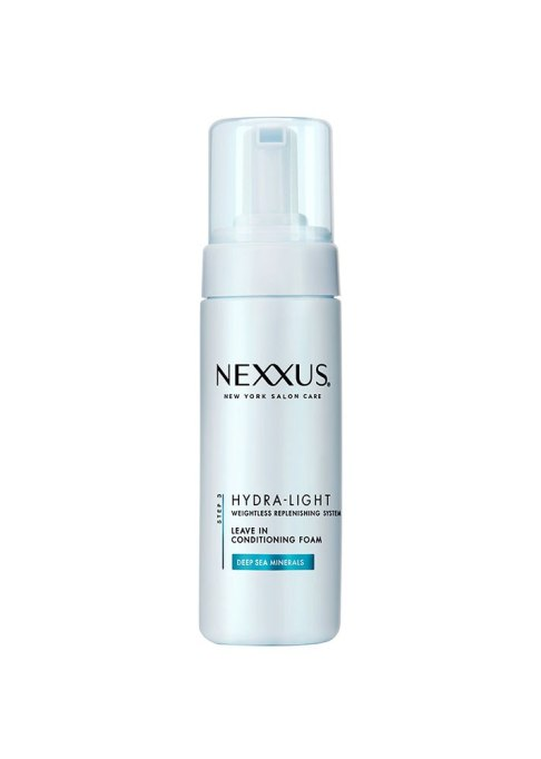Pointers for Flawless Hair Post-Workout | Nexxus Hydra Light Leave In Conditioning Foam