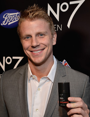 Sean Lowe at the Boots No7 Men launch