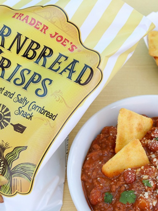 Trader Joe's Game Day Snacks: Cornbread Crisps