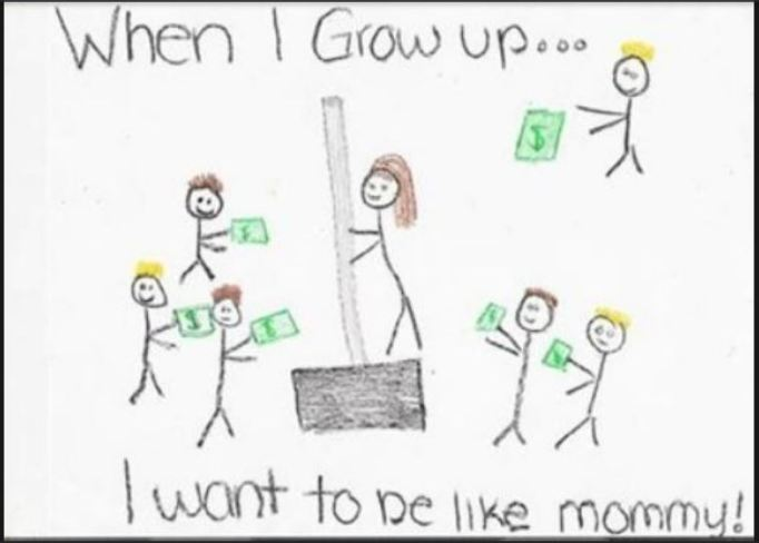 Funny-kids-drawings-of-moms