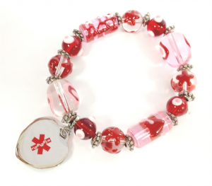 Unique Valentine's Day gift: Beaded Medical