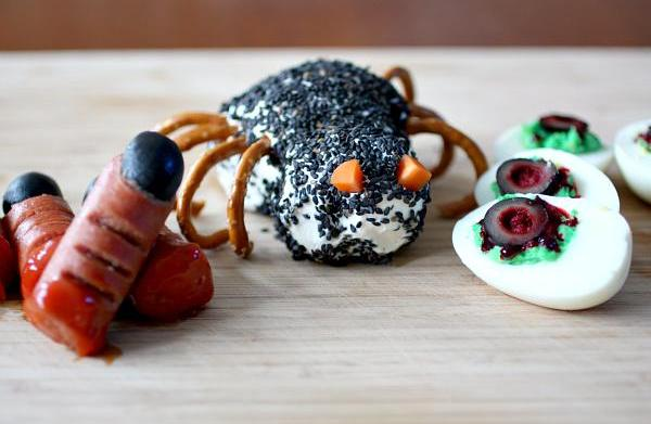 Freaky party food for Halloween