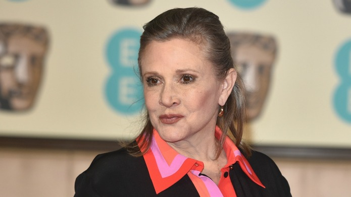 Carrie Fisher had possibly the hairiest