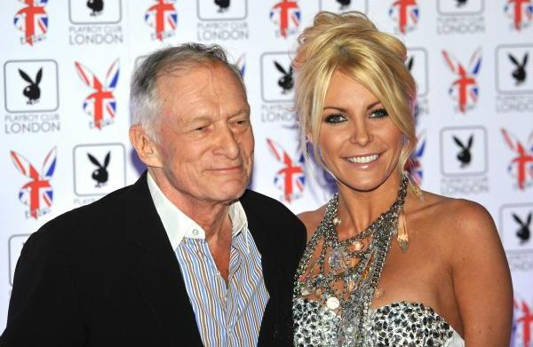 Hugh Hefner and Crystal Harris engaged...