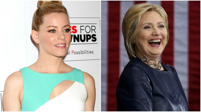 Elizabeth Banks, Hillary Clinton