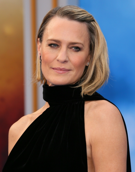 Robin Writer House of Cards premiere