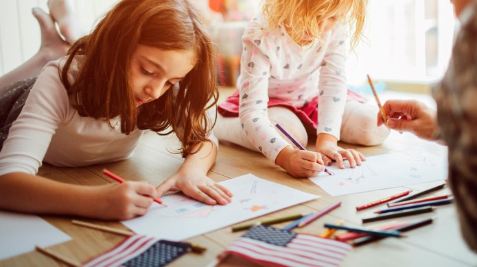 23 Printable July 4th Coloring &