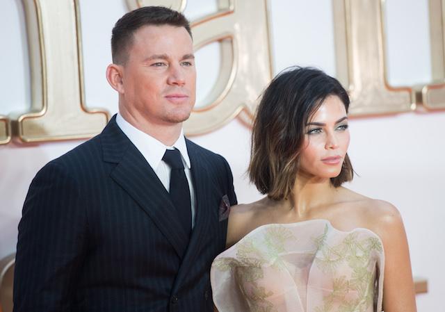 Channing Tatum and Jenna Dewan Tatum attends the 'Kingsman: The Golden Circle' World Premiere