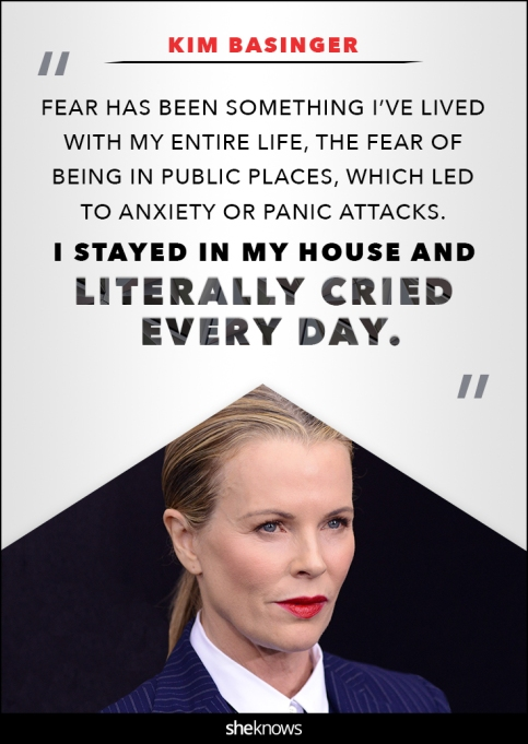 Kim Basinger anxiety quote