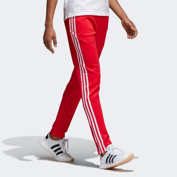 Modern Pieces For Every Woman's Work Wardrobe | Adidas Track Pants
