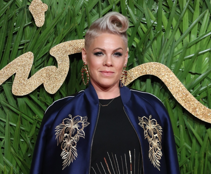 Pink attends the British Fashion Awards