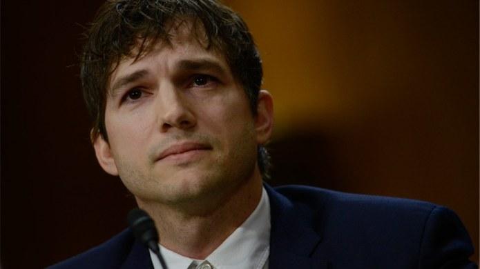 Ashton Kutcher Is Fighting Child Slavery