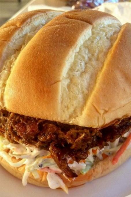 Costco Food Court: BBQ brisket sandwich