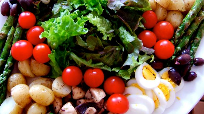 Make your salad healthier and tastier