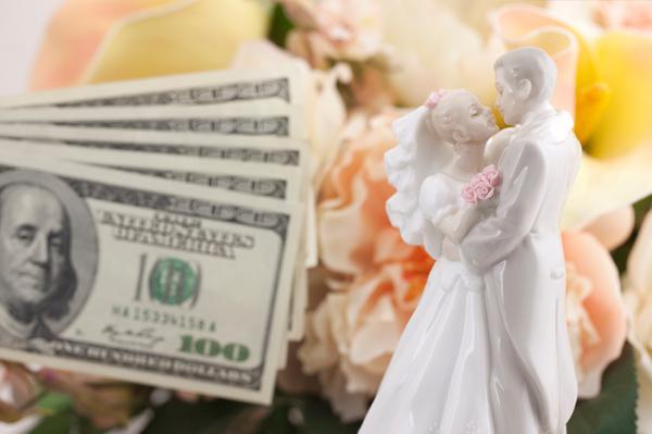 Cash wedding registries