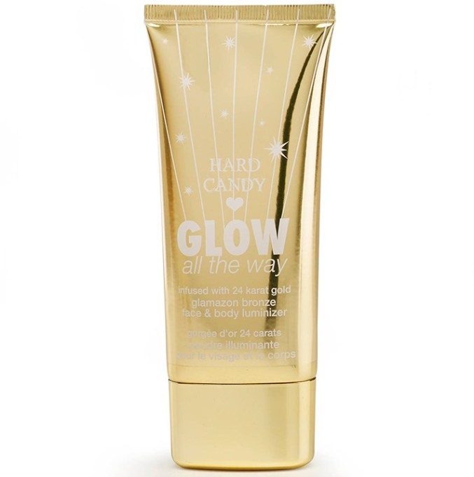 Best Makeup Products at Walmart: Hard Candy Glamazon Glow All the Way Face & Body Luminizer in Bronze | Summer makeup