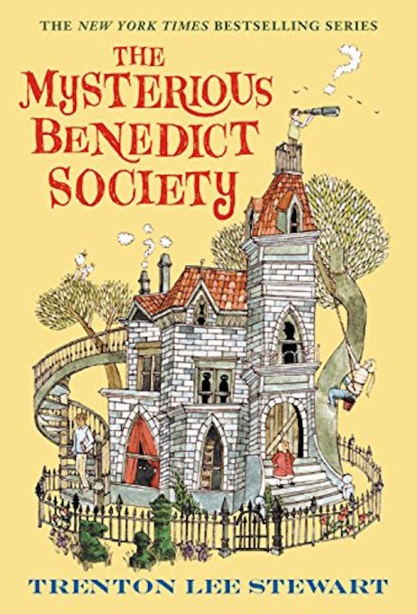 'The Mysterious Benedict Society' by Trenton Lee Stewart