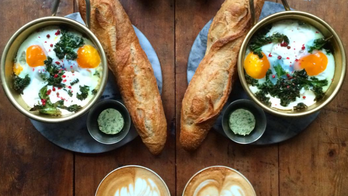 Man turns daily breakfast for 2