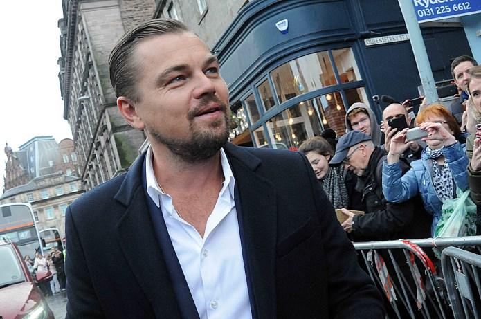 Leonardo DiCaprio Speaking Italian to the