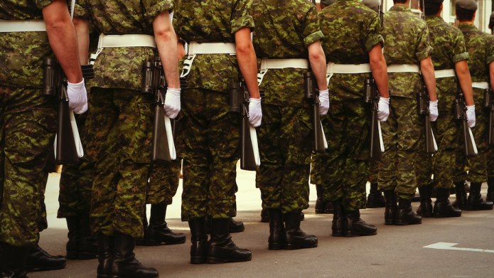 Canadian army looking to recruit women